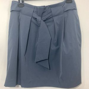 Banana Republic Paperbag Mini Skirt Charcoal Grey